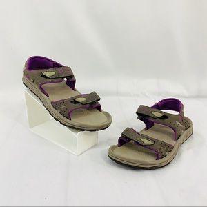 Columbia Techsun III Water Sandals Shoes Gray